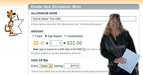 You're Never Too Old For An Allowance