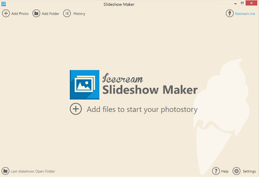 Slideshow Maker: free slideshow software for Windows - Icecream Apps