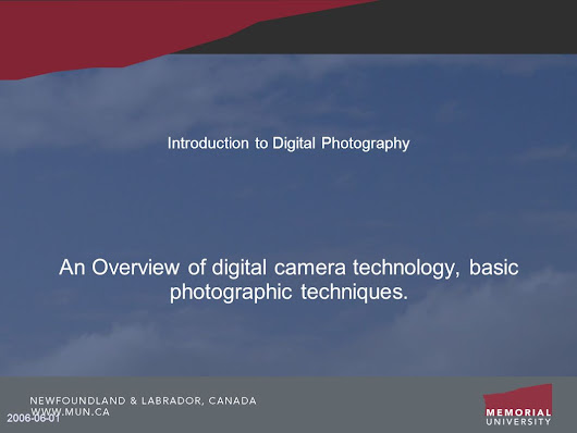 Introduction to Digital Photography -  ppt download