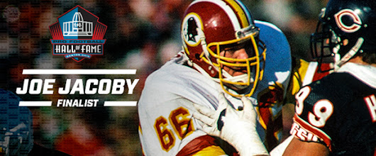Redskins Great Joe Jacoby Named Hall of Fame Finalist for 2nd Time