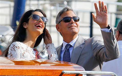 George Clooney and Amal Alamuddin's wedding cost £8m