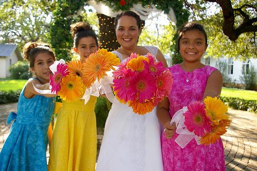 Jr bridemaids by JGM Photography