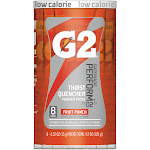 Gatorade G2 Thirst Quencher Powder Packs, Fruit Punch - 8 pack, 0.52 oz each