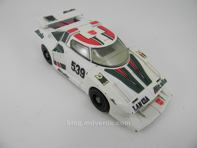 Transformers Wheeljack G1 - modo alterno