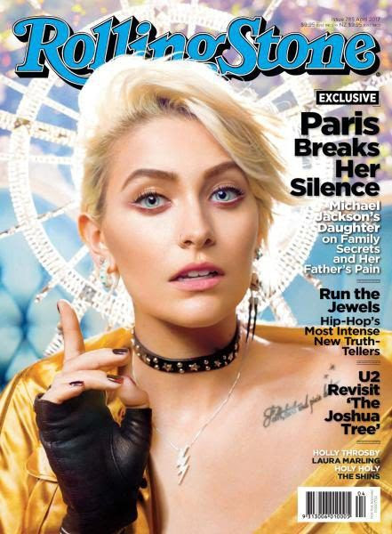 Paris Jackson - Rolling Stone Magazine Cover [Australia] (April 2017)