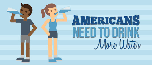 Americans Need to Drink More Water - Azure Water