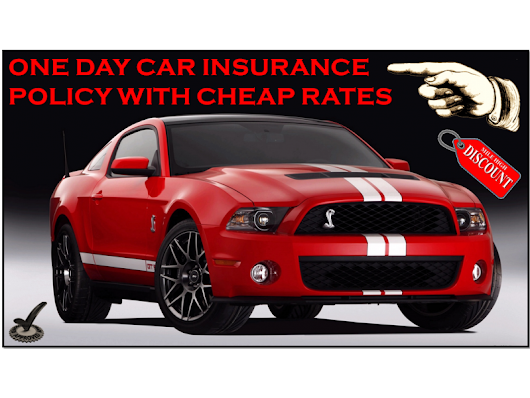 Best One Day Car Insurance Coverage, Nothing To Pay As Down Payment In Advance