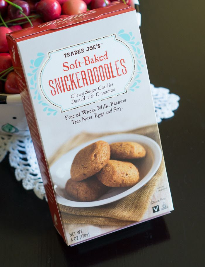 trader joe's soft-baked snickerdoodles review : part of a weekly review series of tj's desserts and treats