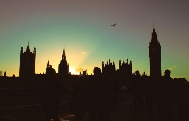london sky line.