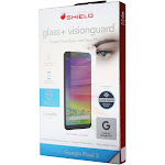 ZAGG InvisibleShield Tempered Glass+ VisionGuard for Google Pixel 3 - Clear