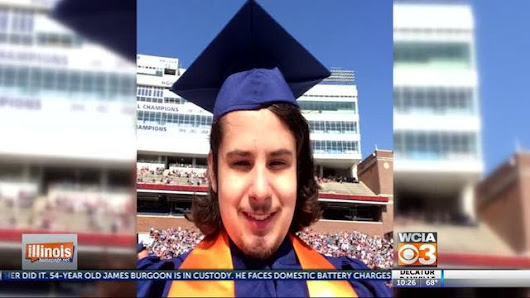 Student with autism graduates from U of I
