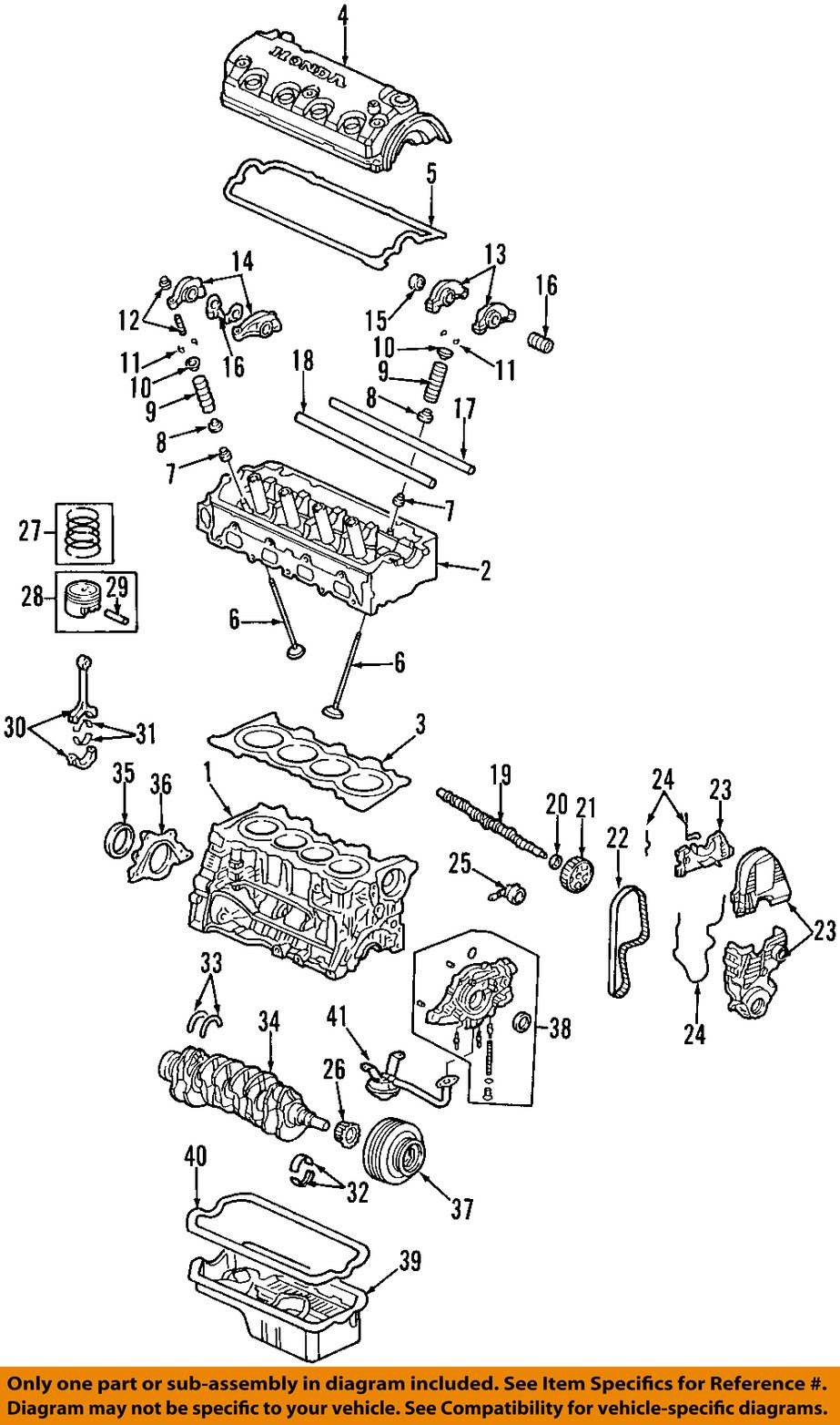 96 Honda Civic Engine Diagram - Honda Civic