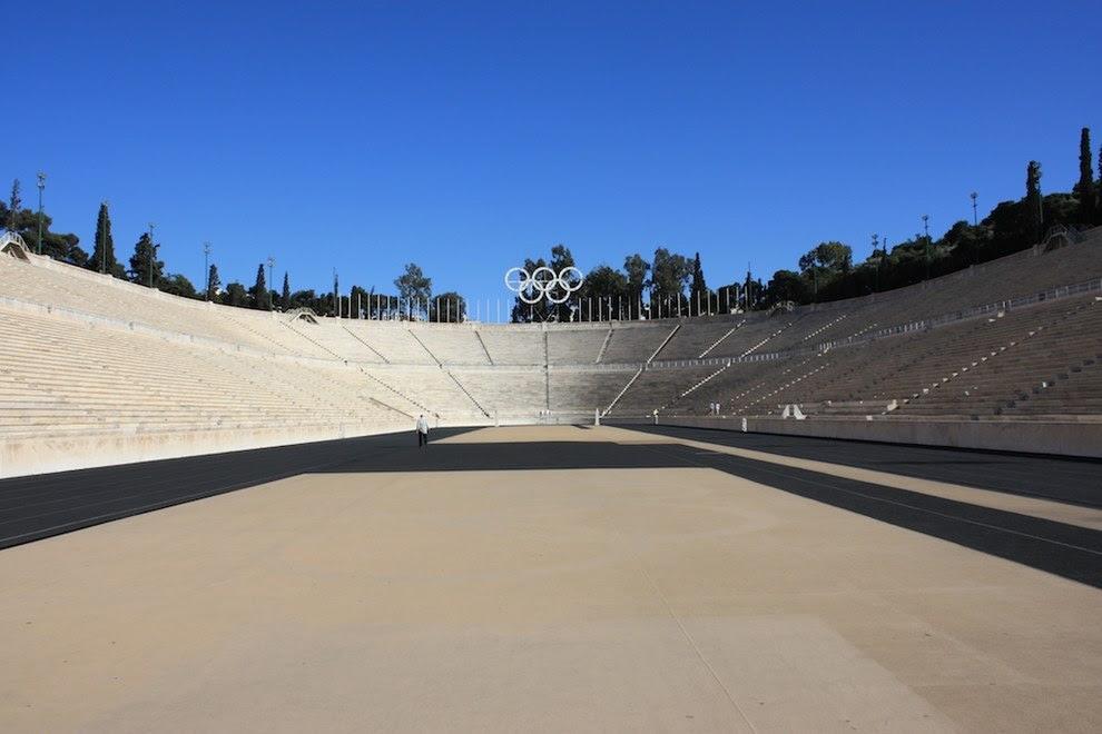 the Panathnaic Stadium