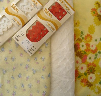 Vintage fabric 2