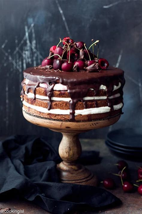 Easy Black Forest Cake Recipe   Cooking LSL