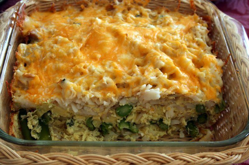 Asparagus Egg Bake