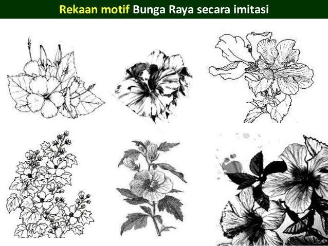 Contoh Lukisan Bunga Raya Jawkosb