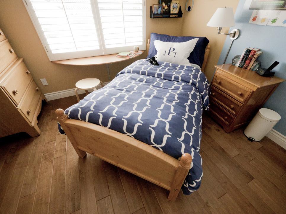 Small Boy's Room With Big Storage Needs | HGTV