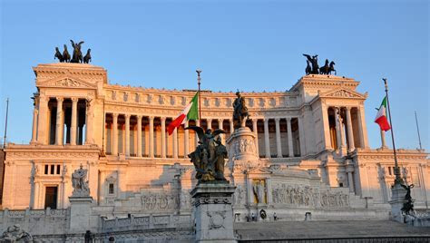 Rome, Il Vittoriano, the monument to Victor Emmanuel II