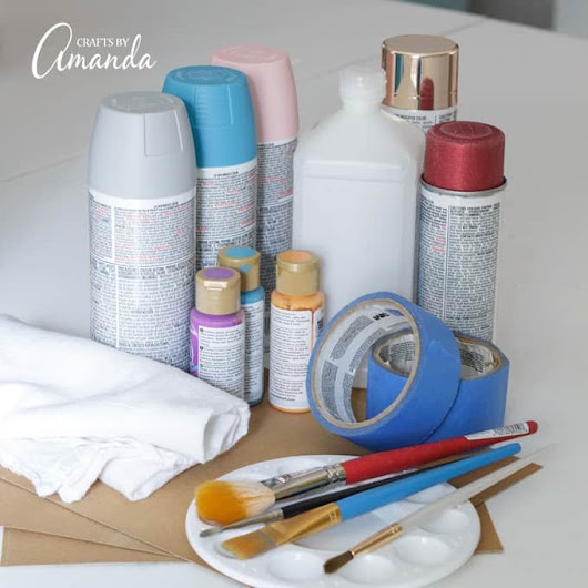 Tips for Painting on Plastic - Crafts by Amanda