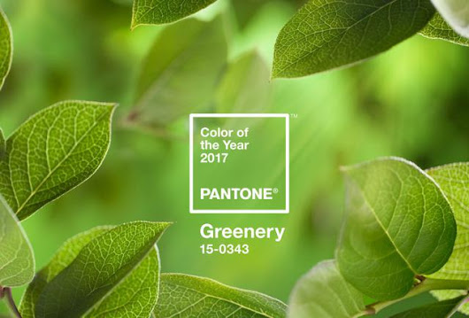 Pantone's Color of the Year 2017 Is Inspired By Nature And Influences Design