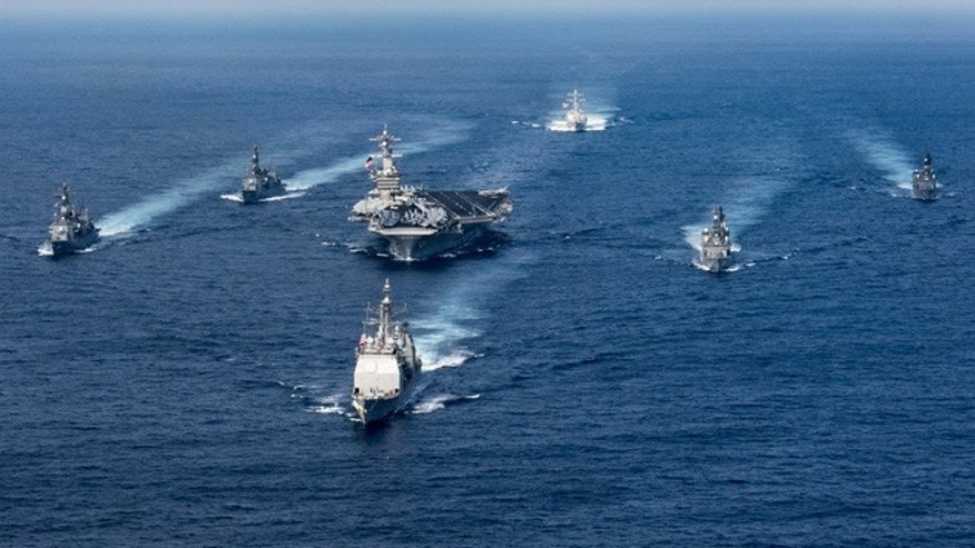 Image result for us navy's uss carl vinson aircraft carrier naval group