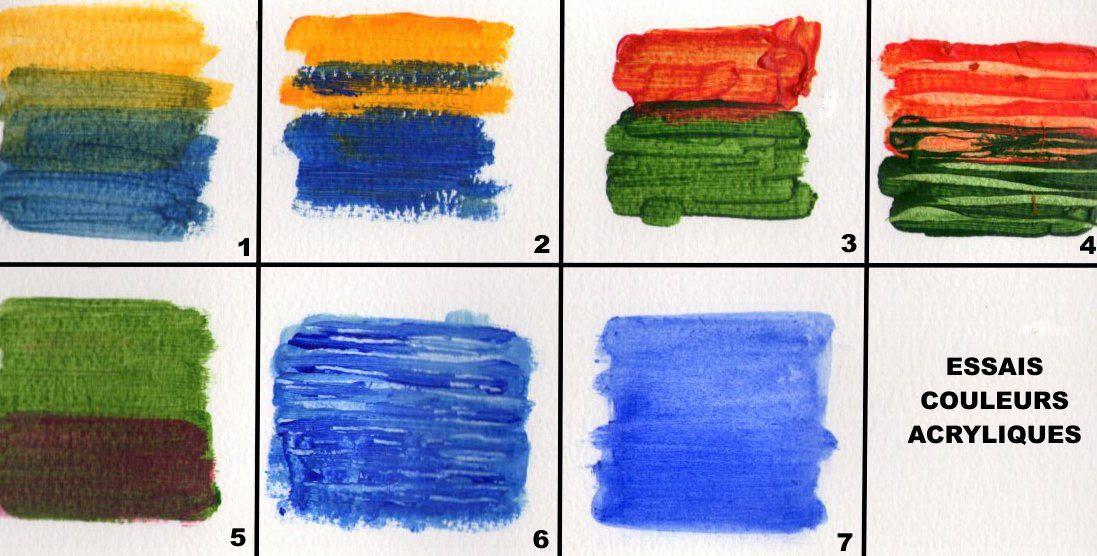 La Peinture Acrylique Les Bases Du Dessin Et De La Peinture