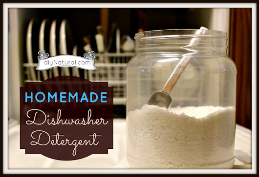 Homemade Dishwasher Detergent (Soap) and Rinse Agent