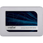 "Crucial Technology MX500 500GB 2.5"" Internal Solid State Drive, SATA III 6Gb/s - CT500MX500SSD1"
