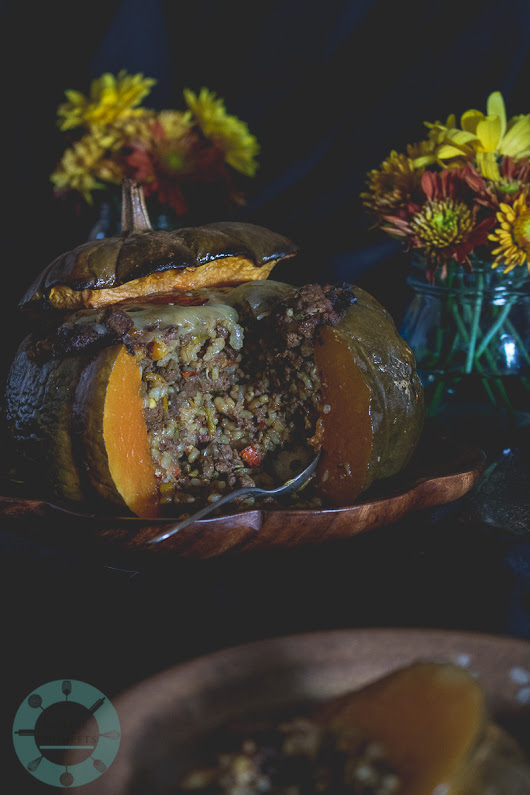 Stuffed Musquée de Provence Pumpkin - Coffee and Crumpets