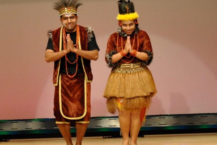 Baju Pakaian Adat Papua Provinsi Papua Ibukota Nya Adalah Jayapura