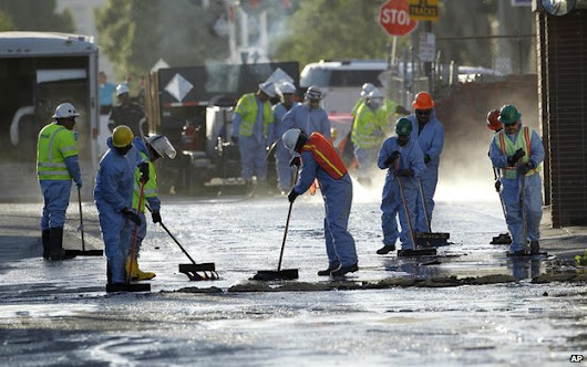 Oil Spill On Streets Of Los Angeles | News | Lubetech