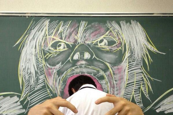 黒板アート 集めてみたこれはすごい ひどい画像集 ブロマガ