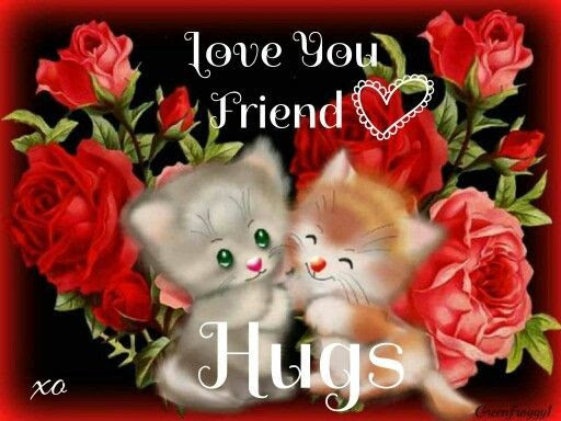 Love You Friend Hugs Pictures Photos And Images For Facebook