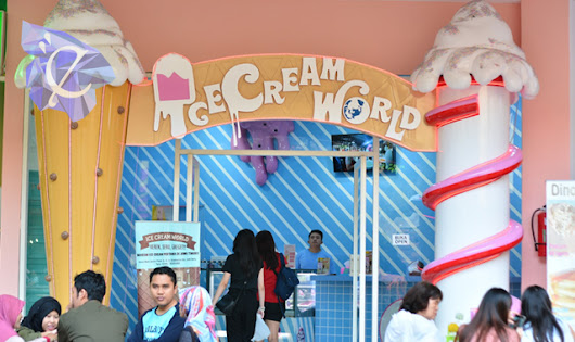Ice Cream World - Serunya bermain di dunia es krim - endrita.id