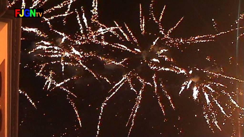 Fuegos artificiales - Sant Sebastia 2013 - La Vilavella