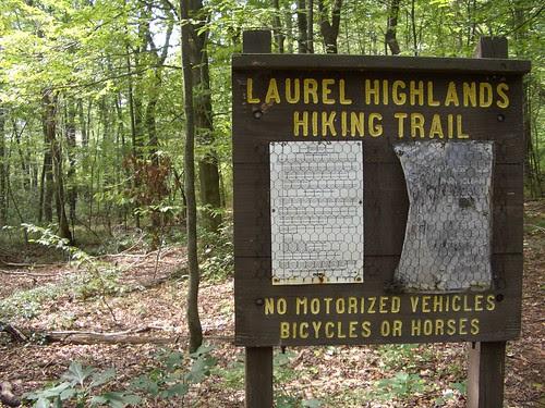 The Laurel Highlands Hiking Trail, miles 46-38