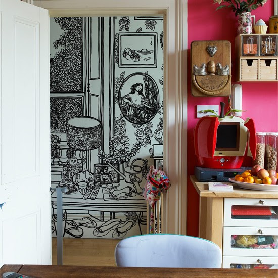 Kitchen corner   India Knight's vibrant Victorian home