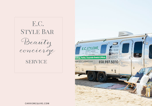 E.C Style Bar Temecula San Diego mobile beauty concierge service