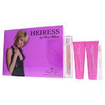 Heiress By Paris Hilton For Women - 4 Pc Gift Set 3.4oz Edp Spray, 0.34oz Edp Spray, 3oz Body Lotion 4 Pc Gift Set