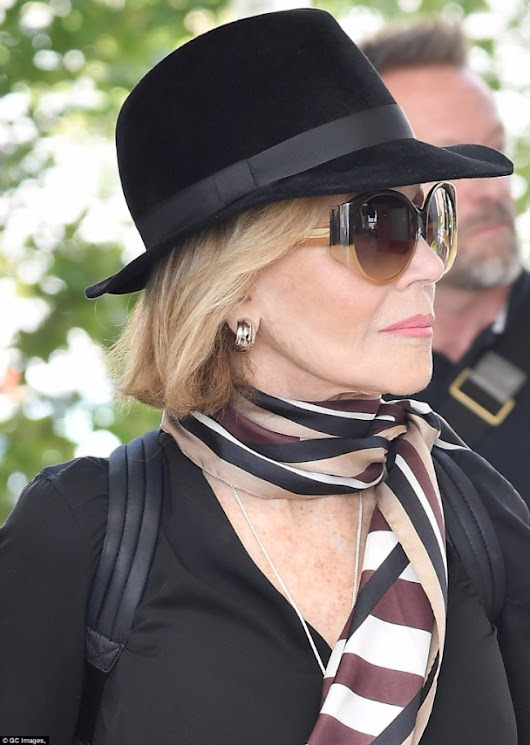 Jane Fonda flaunts Sama sunglasses as she arrives at Venice Film Festival 👓