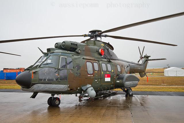 RSAF Chopper Avalon Trade Day