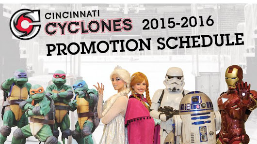 Cyclones Announce 2015-16 Promotional Schedule