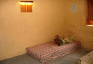 Celda de la cárcel donde estuvo Miguel Hernández