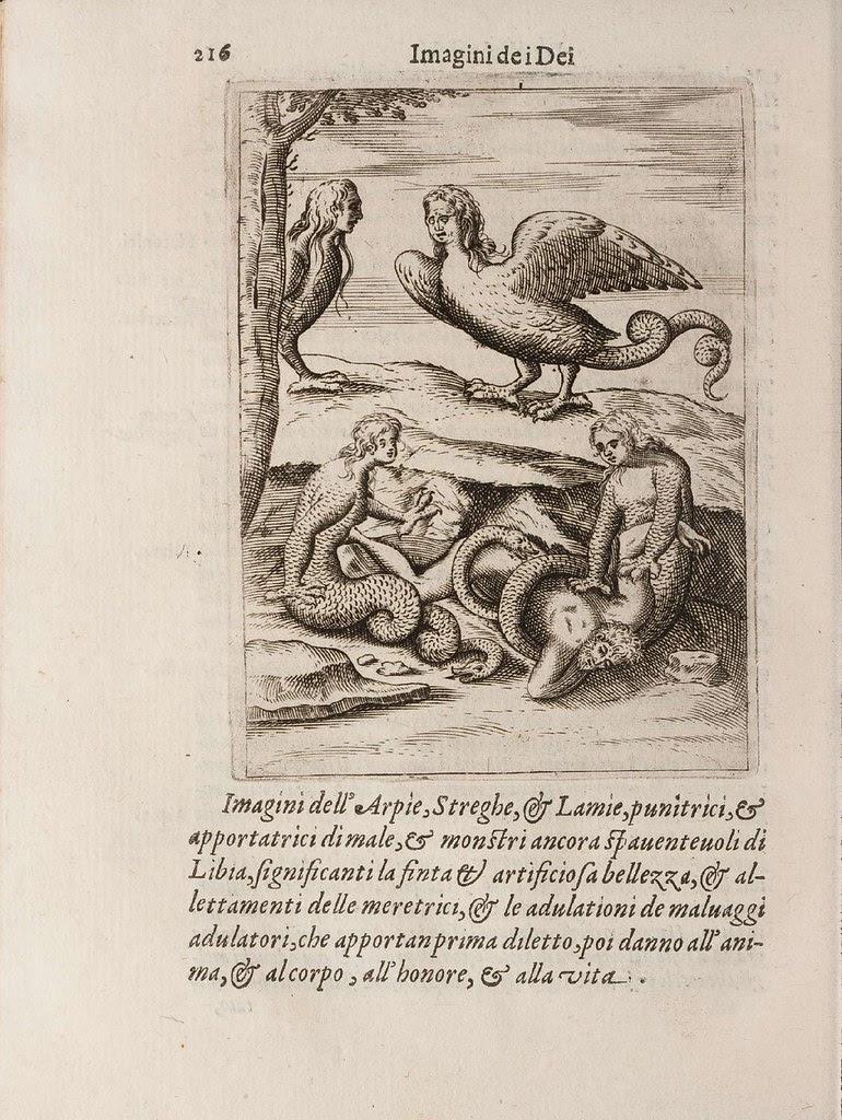 renaissance depiction of ancient gods
