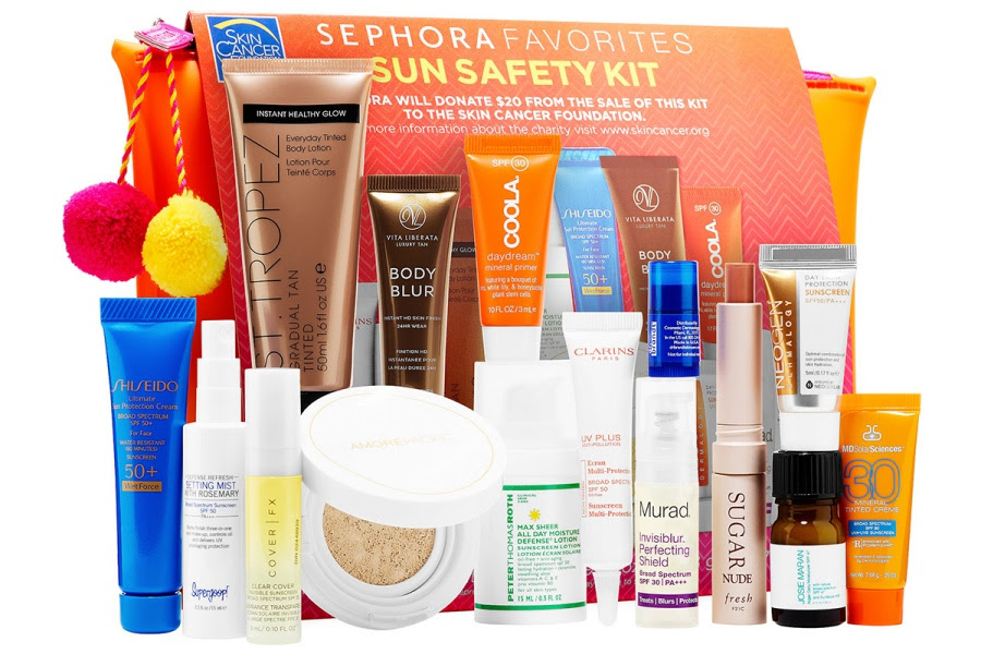 Sephora Favorites Sun Safety Kit for Summer 2017