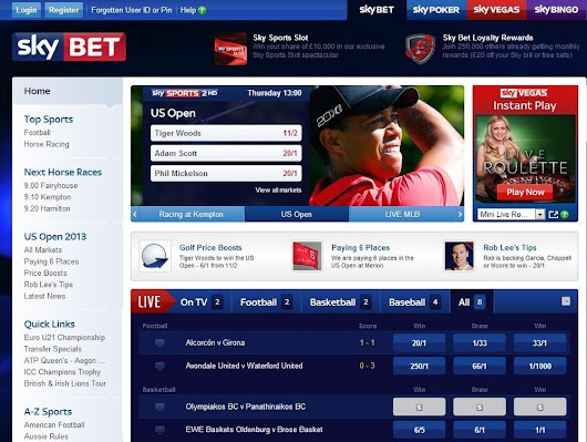 SkyBet Live Streaming - Online Bet Info