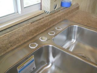 Kitchen Sink Installed