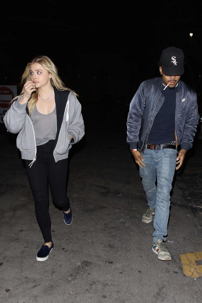 Chloe Moretz: Leaving Bardot Nightclub -01