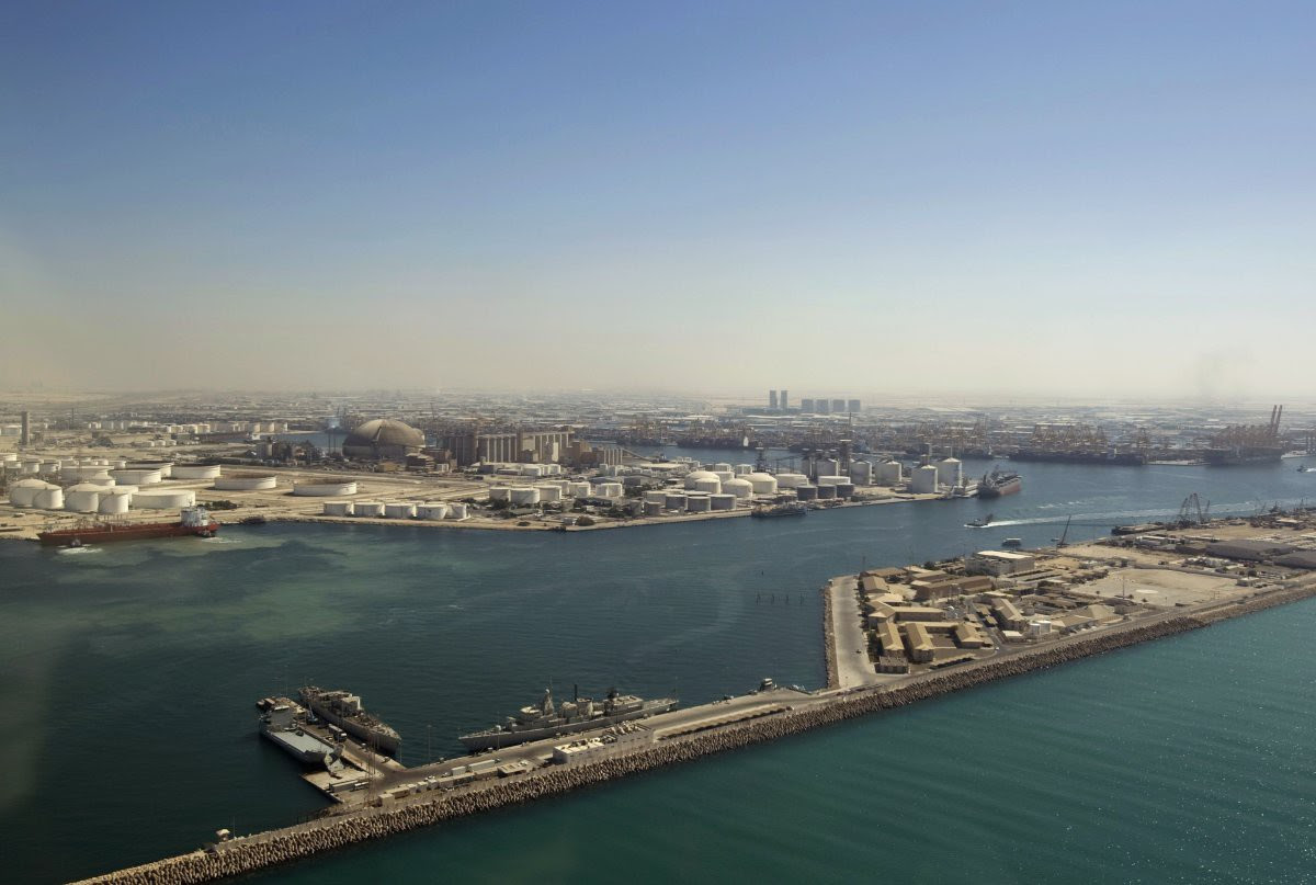 16. Jebel Ali - the world's largest artificial deep-water harbor.  in the world, Dubai, Beauty